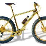 Najvzácnejší zlatý bicykel