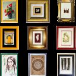 Vybrať vhodný rám na obraz je umenie