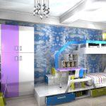 Moderná detská izba tých najpestrejších farieb