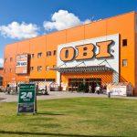 Top 5 najväčších OBI predajní na Slovensku